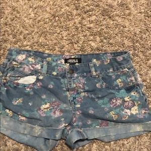 Size 28 Forever 21 Blue Jean Shorts